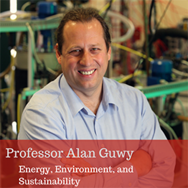 Professor Alan Guwy: Energy, Environment, and Sustainability