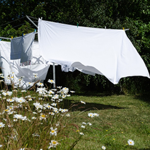 Blankets, Clotheslines and Carbon Dioxide